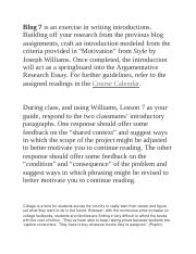 Blog 7 is an exercise in writing introductions.docx
