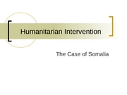 16 Humanitarian Intervention PowerPoint