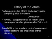 11 - History of the Atom