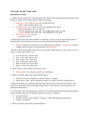 ANS 3319C EXAM 3 Study Guide.docx