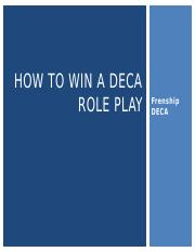 How to win a DECA ROLE PLAY.pptx