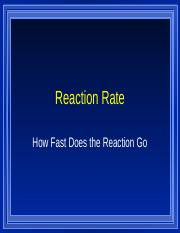 Reactions Rate.ppt
