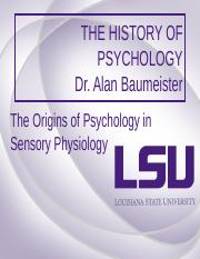 The origins of psychology in physiology.pot.ppt