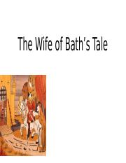 Wife of Bath  Debate
