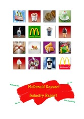 McDonald Dessert Industry Report PRO