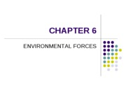 06 - Environmental Forces