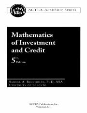 Actex - Mathematics of Investment and Credit - Samuel A. Broverman.pdf