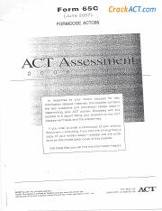 ACT 200706 Form 65C-www.crackact.com