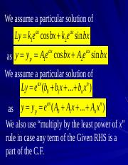07 Method of Variation of Parameters.ppt