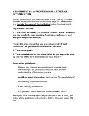 ASSIGNMENT ONE-LETTER OF INTRODUCTION INSTRUCTIONS.pdf