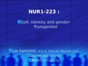 2015.223-self identity & gender role