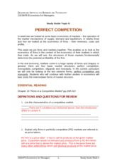 Study_Guide_Topic_5_perfect_competition_with_some_suggested_answers 2013