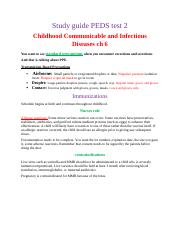 Study guide PEDS test 2.docx