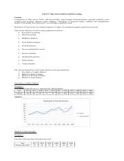 Unit IV - Time Series Analysis.doc