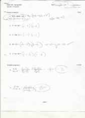 quadratics quiz p 1