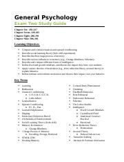 Exam Two Study Guide 2014.docx