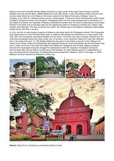 History of Malacca notes