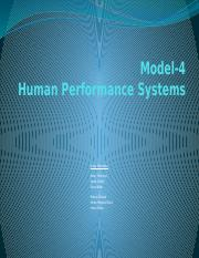G-5 Performance-Systems-Model