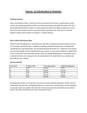 Journal - Introduction to Chemistry, Chemistry Grade 11(2).docx