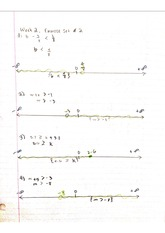 Weekly Excercise Set # 4 Linear Equations Notes