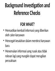 Background Investigation and Reference Checks.pptx