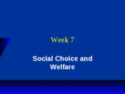 Week 7 Lecture_Welfare