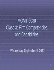 PMBA 6030 Class 3 Firm Competencies and Capabilities 2017 out.pptx