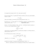 Differential Geometry Problem Set 3
