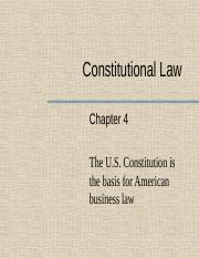 Chapter 4 - Constitutional Law for Business and E-Commerce.pptx