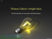 Edison's bright idea