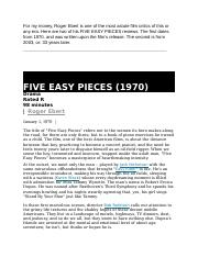 17NASModule1ArticleFiveEasyPieces2Reviews.docx