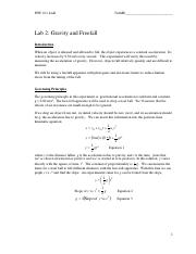 LAB 2-Gravity and Freefall.pdf