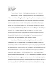 however after hamlet returns from england as a changed man one who 4 pages shakespeare macbeth essay