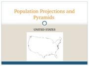 Population Projections and Pyramids
