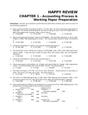 CHAPTER 1 Caselette - Accounting Cycle.doc