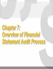 Chap 7_Overview of the Financial Statement Audit Process.ppt