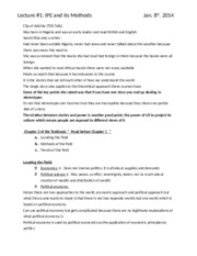 Course Notes (Lectures and Textbook)