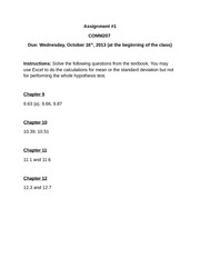 Assignment1-COMM207-Fall2013-1