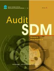 Ekma4476 Edisi 1 Audit Sdm Pdf Hak Cipta Dan Hak Penerbitan Dilindungi Undang Undang Ada Pada Universitas Terbuka Kementerian Pendidikan Dan Course Hero