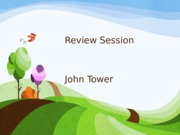 Review Session 2