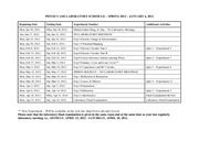 PHYS1102_LABORATORY_SCHEDULE_SPRING_2012