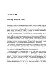 11 Binary Search Tree