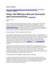 What's the Difference Between Structured and Unstructured Data.doc