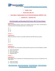300-115 Exam Dumps with PDF and VCE Download (91-120).pdf