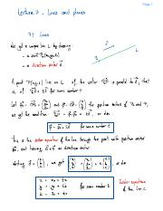 Lecture 7- Lines And Planes.pdf