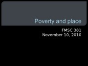 11.10 Poverty and place fall 10 Bb.ppt