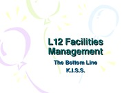 L11 Facilities Management0
