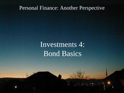 14 Investments 4 - Bond Basics 2012-02-22