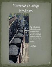 Nonrenewable Energy - Fossil Fuels.pptx