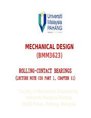 Lecture Note C04 - Chapter 11 - Rolling-Contact Bearings.pptx